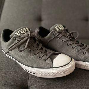 Converse Shoes - Men's Grey Converses